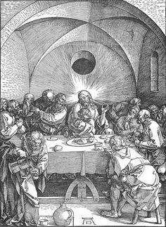 Albrecht Dürer ~ The Last Supper, 1510