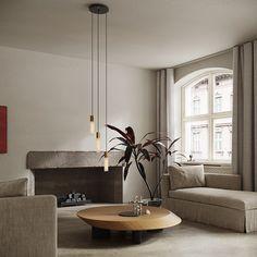 Decorative Ceiling Lights, Brass Ceiling Light, 3 Light Pendant, Pendant Lighting, Metal Canopy, Bulb, Contemporary, Interior, Inspiration