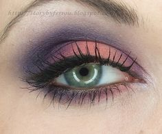 navy blue eye shadow | all the eyeshadows come from the sleek eyeshadow palette showstoppers ...