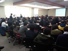 30년 무역달인의 취창업 노하우를 듣기 위해 강의실을 가득 메운 서울 시민의 열기, 느껴지시나요?