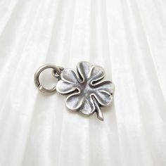 Sterling Four Leaf Clover Small Charm James Avery Jewelry