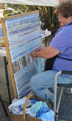 Make Rag Rugs henscratchquilting.com is a great site to start with
