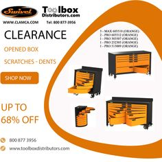 Factory clearout. Up to 68% discount in scratches and dents. Heavyduty steel toolbox and workbenches. www.toolboxdistributors.com and see our clearance section. Lowerst price ever. Scratch And Dent, Pre Production, Workbenches, Toolbox, Storage Ideas, Im Not Perfect, Workshop, Steel, Tool Box