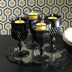 Candle holder goblets