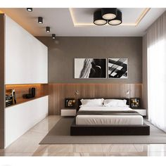 Awesome Deco Chambre Zen Moderne that you must know, You?re in good company if you?re looking for Deco Chambre Zen Moderne Modern Bedroom Design, Master Bedroom Design, Contemporary Bedroom, Bed Design, Home Bedroom, Home Interior Design, Bedroom Decor, House Design, Bedroom Ideas