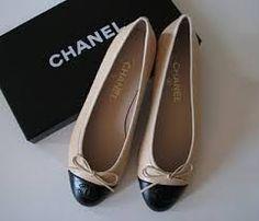 Sapatilha Chanel Bicolor Couro