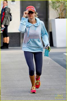 Ashley Tisdale: Gym Before Business Meeting