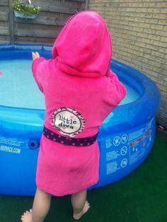 Little Diva's Bathrobe by Mama Mizzy #inspiration