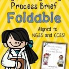 This foldable was designed to help students synthesize their learning and understanding of the design process before, during, and/or after engineeri...