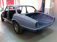 Bodyshell painted in original colour - Jaguar Lavender Blue