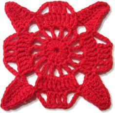 Ravelry: Square 'n' Fair - Lacy Crochet Square Margarethe pattern by Susann Hajjar