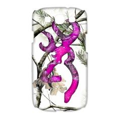 White Snow Realtree Camo Browning Pink Logo Case Phone For Samsung Galaxy S3 in Entertainment Memorabilia | eBay