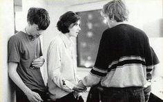 Graham Coxon, Justin Frischmann and Damon Albarn, 1991 Indie Dance, Indie Music, Justine Frischmann, Blur Band, Graham Coxon, Going Blind, Tom Odell, Damon Albarn, Britpop