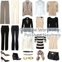 Ask Allie: Capsule Wardrobe of Neutrals