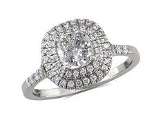 We've rounded up every all the engagement ring styles we could think off, with a guide to classic settings, vintage era, and modern trends for rings. Perfect Engagement Ring, Engagement Ring Styles, Diamond Engagement Rings, Diamond Cluster Ring, Diamond Rings, Diamond Jewelry, Jewellery Uk, Ring Verlobung, Fashion Rings