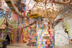 Institute of Contemporary Art in Philadelphia. (Credit: Institute of Contemporary Art) Philadelphia Magic Gardens, Philadelphia Pa, Institute Of Contemporary Art, Outdoor Art, Land Art, Installation Art, Art Installations, Art Studios, Art Pictures