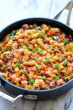Mix in the cooked ground beef and the cooked noodles. Description from pinterest.com. I searched for this on bing.com/images