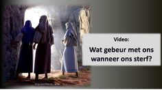 What really happens to us when we die - what does the Bible tell us? Please watch this video to find out. Bible Promises, Gods Promises, Jesus Ressuscité, Learn The Bible, Bible Questions, Der Tot, Videos, Life Problems, What Really Happened