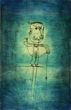 Paul Klee Der Angler 1921