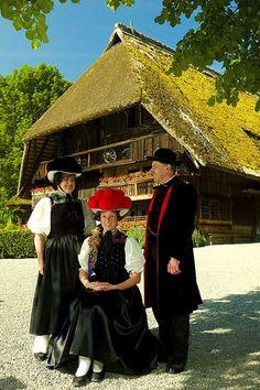 Black Forest Open Air Museum Governor's Farm or Vogtsbauernhof,