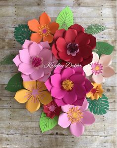 New Birthday Flowers Ideas Etsy Ideas Moana Backdrop, Birthday Card Puns, Fiestas Party, Luau Party, Floral Banners, How To Make Paper Flowers, Alice In Wonderland Tea Party, Moana Birthday, Diy Letters