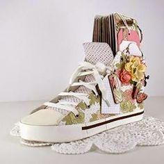 Sneaker made by Patti Katai