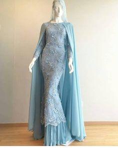 Dress Brokat Muslim, Gaun Dress, Muslim Dress, Muslim Wedding Gown, Muslimah Wedding Dress, Hijab Gown, Hijab Dress Party, Simple Long Dress, Moslem Fashion
