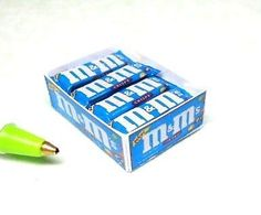 4 CHOCOLATE BARS in a CANDY BOX, ALL REMOVEABLE  Dollhouse Miniature Size#F706