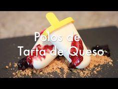 Helados de Tarta de Queso - Cheesecake Popsicles - YouTube