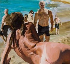 Scenes of Late Paradise The Welcome - Eric Fischl