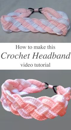 Wie man Stirnband leicht häkelt How to crochet headband easily, 25 +> How to make a bagHow to make felt headbands fCrochet Headband, Boho He Bandeau Crochet, Crochet Headband Free, Free Crochet, Knit Crochet, How To Crochet, Things To Crochet, Crocheted Headbands, Knit Headband Pattern, Knitted Headband