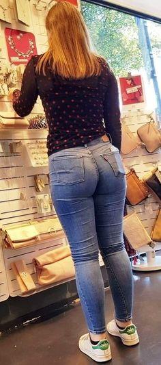 Girls In Leggings, Girls Jeans, Superenge Jeans, Skinny Jeans, Mode Rock, Sweet Jeans, Curve Jeans, Curvy Women Fashion, Sexy Hot Girls
