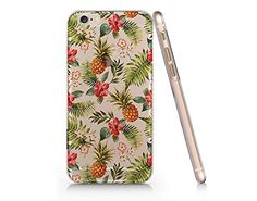 Pineapple Clear Transparent Plastic Phone Case for iphone 6 6s _ SUPERTRAMPshop (VAS263) SUPERTRAMPshop