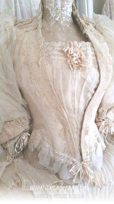 #Antique wedding bodice#antique#wedding