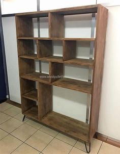 Not only the rooms, but the kitchen of the home also requires the storage space due to the large number of items that need to be stored there for daily use. So, this shelving cabinet idea can be copied for any area of the home.