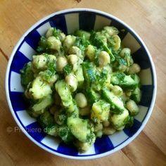 Probiere das mal aus!: Ein Grüner Salat - Dicke Bohnen, Gurke und Kartoffeln