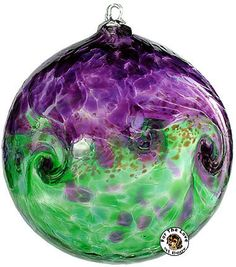 Witch Balls capture bad elements, it's a beautiful protector.