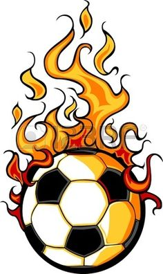 Illustration of Flaming Soccer Ball Vector Cartoon burning with Fire Flames vector art, clipart and stock vectors. Drawing Flames, Fire Drawing, Ball Drawing, Soccer Tattoos, Football Tattoo, Soccer Drawing, Bicycle Tattoo, Cristiano Ronaldo Wallpapers, Soccer Art