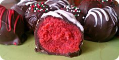 Christmas Cake Truffles