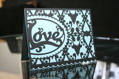 Love card created with the Silhouette Cameo. www.craft-e-corner.com