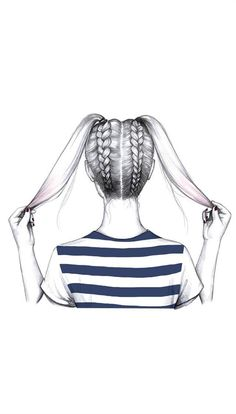 + rodetes De colitas a trenzasDe colitas a trenzas Tumblr Drawings, Bff Drawings, Pencil Art Drawings, Art Drawings Sketches, Hipster Hairstyles, Quick Hairstyles, Braid Hairstyles, Girl Hairstyles, Drawing Hairstyles
