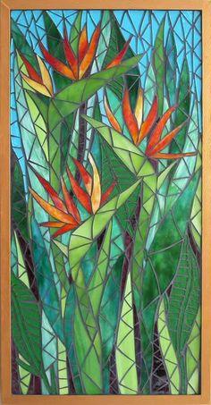 Jean Loney Mosaics - Home Mosaic Garden Art, Mosaic Tile Art, Mosaic Flower Pots, Mosaic Artwork, Mosaic Crafts, Mosaic Projects, Mosaic Glass, Stained Glass Flowers, Stained Glass Patterns
