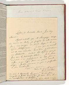 [Manuscript Letter from W. H. Fox Talbot to Antonio Bertoloni] William Henry Fox Talbot (British, 1800–1877) Correspondent: Antonio Bertoloni (Italian, 1775–1869) Date: 1839 Medium: Ink on paper (manuscript)