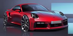 2021 Porsche 911 Turbo S - GT Silver Metallic - HD Pictures, Videos, Specs & Information - Dailyrevs Electric Porsche 911, Porsche 911 Turbo, Porsche Cars, Car Design Sketch, Car Sketch, Carros Suv, 911 Turbo S, Porsche Design, Top Cars