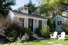 Seamist cottage exterior ~ Cabot Cove Cottages
