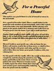 For a Peaceful Home, Book of Shadows Spell Page, Witchcraft, Wicca, Pagan