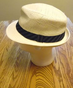 Fedora Hat Cream Ivory Mens Trilby by sweetie2sweetie on Etsy