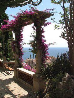 A view to kill for... Jardin exotique | Monaco