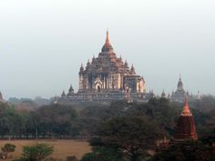Is Bagan as Impressive as Angkor Wat?: Thatbyinnyu Temple in Bagan, Myanmar