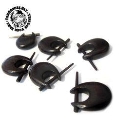 Sold in pairs. Wood Plugs, Ear Gauges, Dark Wood, Cufflinks, Stud Earrings, Pairs, Pretty, Accessories, Beauty
